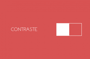 Contraste – Princípio do Design